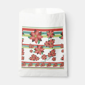 Sachets En Papier Sac de papier fleuri de biscuit