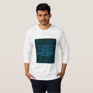Sachez vos droits de l'homme fondamentaux t-shirt
