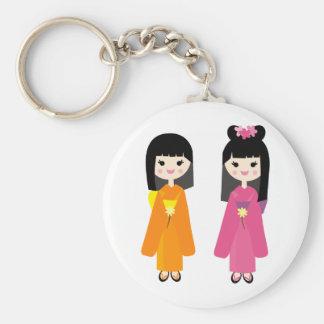 sachi de mariko porte-clé rond