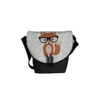 Sacoche Fox w/Glasses de bébé de hippie