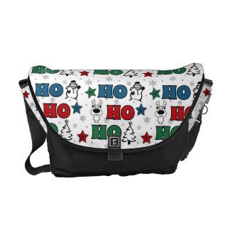 Sacoche Ho-Ho-Ho conception de Noël