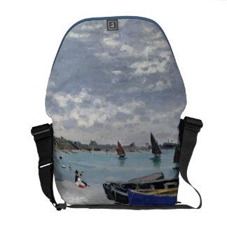 Sacoches Claude Monet | la plage chez Sainte-Adresse