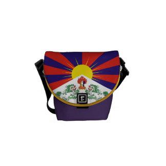 Sacoches Mini sac messenger à banlieusard de drapeau
