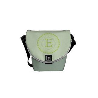 Sacoches Sac personnalisable de Mini-Messager de vert de