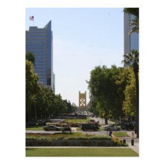 Sacramento : Pont de tour de mail de capitol Carte Postale
