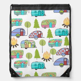 Sacs à dos de thème de camping