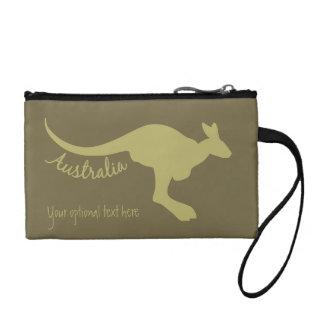 Sacs accessoires faits sur commande de kangourou
