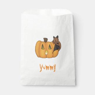 Sacs de faveur de batte de festin de Halloween