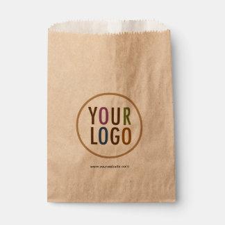 Sacs de faveur de Papier d'emballage avec le logo