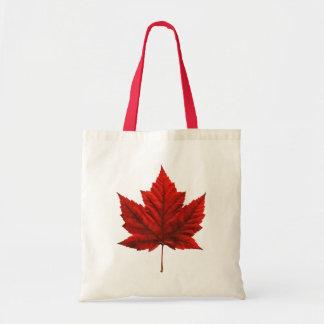 Sacs de feuille d'érable du Canada de sacs