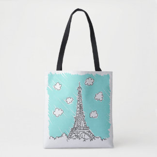 Sacs d'illustration de Tour Eiffel