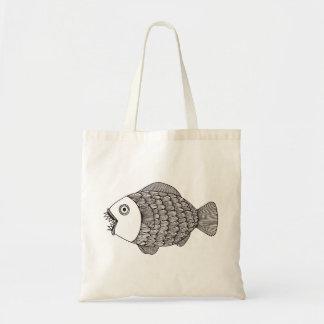 Sacs effrayants de poissons