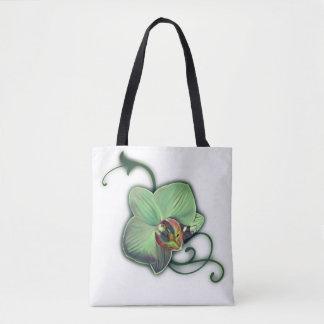 Sacs fourre-tout uniques à orchidée de conception