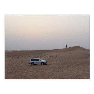 Safari de désert de Dubaï Carte Postale