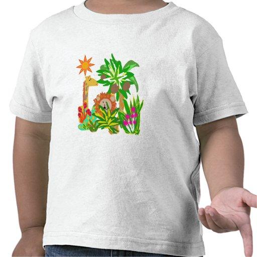 Safari de jungle t-shirt