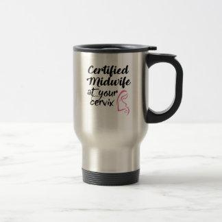 Sage-femme certifiée à votre tasse de café de
