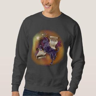 Sagesse du sweatshirt de base d'un Unicorn~men