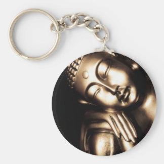 Sagesse thaïlandaise de Bouddha Porte-clé Rond