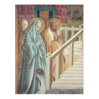Saint Anne et Joachim à la présentation de Carte Postale