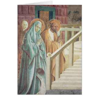 Saint Anne et Joachim à la présentation de Cartes