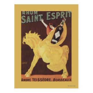 Saint Esprit de Rhum - promo d'André Teissedre Carte Postale