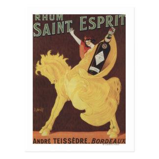Saint Esprit de Rhum - promo d'André Teissedre Cartes Postales