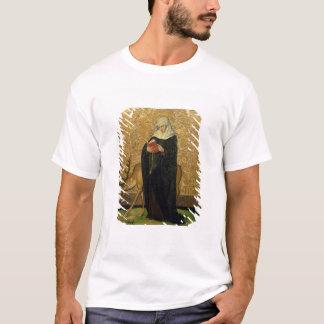 Saint féminin avec un mâle (huile sur le panneau) t-shirt