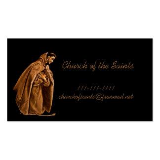 Saint Francis dans l'ombre Modèle De Carte De Visite