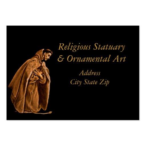 Saint Francis dans l'ombre Modèles De Cartes De Visite
