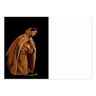 Saint Francis dans l'ombre Cartes De Visite Professionnelles