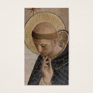 Saint Francis d'Assisi dans la contemplation Cartes De Visite