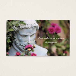 Saint Francis des cartes de prière d'Assisi