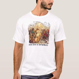 Saint Jeanne d'Arc dans le T-shirt léger des