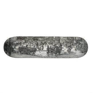 Saint-Médard Paris d'endroit de La par Gustave Fra Planches À Roulettes Customisées
