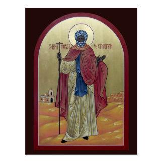 Saint Moïse la carte éthiopienne de prière