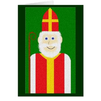 Saint Nicholas Carte De Vœux
