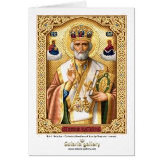 Saint Nicholas - carte de voeux