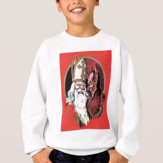 Saint-Nicolas rouge Krampus Sweatshirt