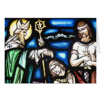 Saint Patrick et ses disciples Carte De Vœux