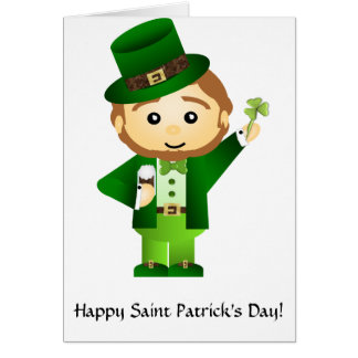 Saint Patrick's Day Carte De Vœux