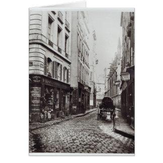Saint-Severin de rue Carte De Vœux