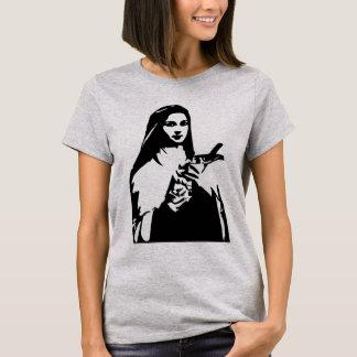 Saint Therese de chemise de dames de Lisieux T-shirt
