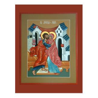 Saints Joachim et carte postale d'Anna