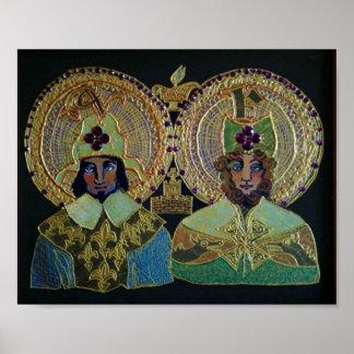 Saints Valery et Finian Poster