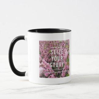 Saisissez votre histoire tasse en céramique