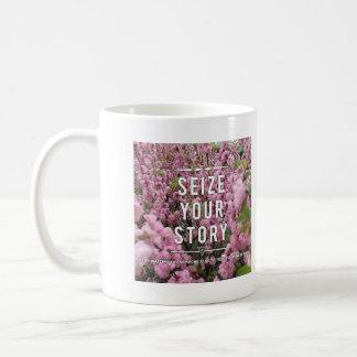 Saisissez votre histoire tasse en céramique de 11