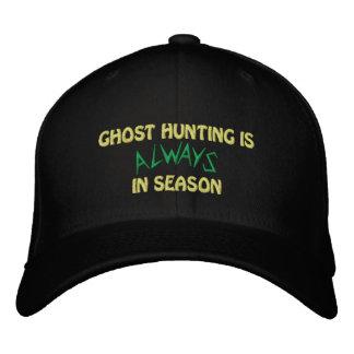 Saison de chasse de fantôme casquette brodée