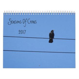 Saisons des corneilles calendriers