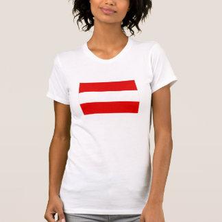Sait Mme T-shirt avec le Autriche-drapeau