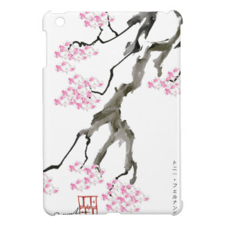 Sakura avec le poisson rouge rose, fernandes coque iPad mini
